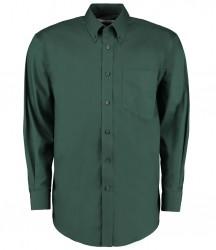 Image 4 of Kustom Kit Premium Long Sleeve Classic Fit Oxford Shirt