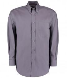 Image 6 of Kustom Kit Premium Long Sleeve Classic Fit Oxford Shirt