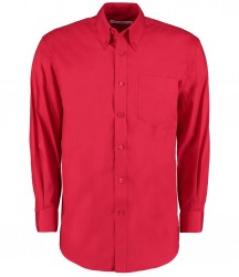 Image 8 of Kustom Kit Premium Long Sleeve Classic Fit Oxford Shirt