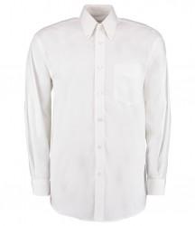 Image 2 of Kustom Kit Premium Long Sleeve Classic Fit Oxford Shirt
