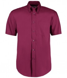 Image 4 of Kustom Kit Premium Short Sleeve Classic Fit Oxford Shirt