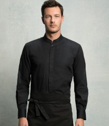 Bargear Long Sleeve Tailored Mandarin Collar Shirt image