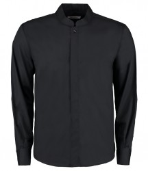 Kustom Kit Bargear® Long Sleeve Mandarin Collar Shirt image