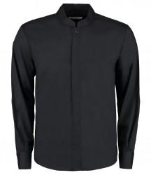 Kustom Kit Bargear® Long Sleeve Mandarin Collar Shirt image