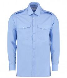 Kustom Kit Long Sleeve Pilot Shirt image