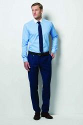 Kustom Kit Long Sleeve Contrast Collar Business Shirt image