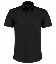 Kustom Kit Short Sleeve Tailored Poplin Shirt image