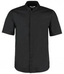 Kustom Kit Short Sleeve Mandarin Collar Shirt image