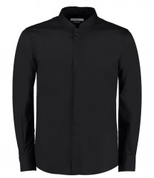 Kustom Kit Long Sleeve Mandarin Collar Shirt image