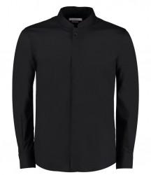Kustom Kit Long Sleeve Mandarin Collar Shirt image