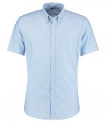 Kustom Kit Slim Fit Short Sleeve Oxford Shirt image