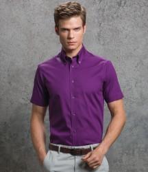Kustom Kit Premium Short Sleeve Tailored Oxford Shirt image