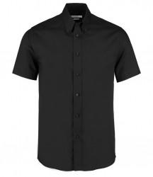 Kustom Kit Short Sleeve Tailored Premium Oxford Shirt image