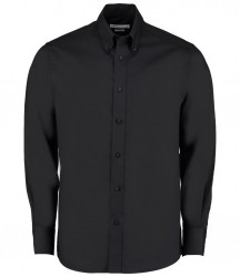 Kustom Kit Long Sleeve Tailored Oxford Shirt image