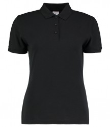 Kustom Kit Ladies Klassic Slim Fit Piqué Polo Shirt image