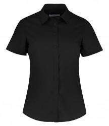 Kustom Kit Ladies Short Sleeve Tailored Poplin Shirt image