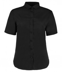 Kustom Kit Ladies Short Sleeve Premium Non-Iron Corporate Shirt image