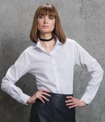 Kustom Kit Ladies Premium Long Sleeve Classic Fit Non-Iron Shirt image