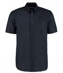 Image 3 of Kustom Kit Short Sleeve Classic Fit Workwear Oxford Shirt