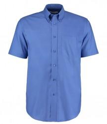 Image 4 of Kustom Kit Short Sleeve Classic Fit Workwear Oxford Shirt