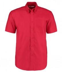Image 6 of Kustom Kit Short Sleeve Classic Fit Workwear Oxford Shirt