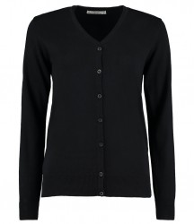 Kustom Kit Ladies Arundel Cotton Acrylic V Neck Cardigan image