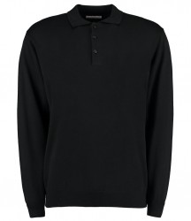Kustom Kit Long Sleeve Arundel Knitted Polo image