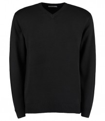 Kustom Kit Heavy Arundel V Neck Sweater image