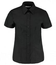 Kustom Kit Ladies Short Sleeve Workwear Oxford Shirt image