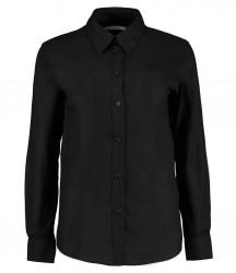 Kustom Kit Ladies Long Sleeve Workwear Oxford Shirt image