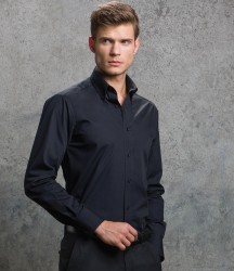 Kustom Kit Long Sleeve Tailored City Business Shirt image