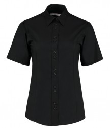 Kustom Kit Ladies Short Sleeve City Business Shirt image