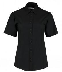 Kustom Kit Ladies Short Sleeve City Business Shirt image