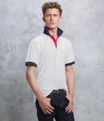 Kustom Kit Contrast Poly/Cotton Piqué Polo Shirt image