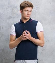 Kustom Kit Contrast Tipped Piqué Polo Shirt image
