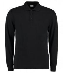 Kustom Kit Long Sleeve Poly/Cotton Piqué Polo Shirt image