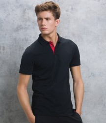 Kustom Kit Klassic Club Style Slim Fit Cotton Piqué Polo Shirt image