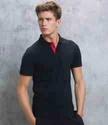 Kustom Kit Klassic Club Style Slim Fit Cotton Piqué Polo Shirt image