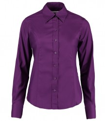 Image 8 of Kustom Kit Ladies Long Sleeve Corporate Oxford Shirt