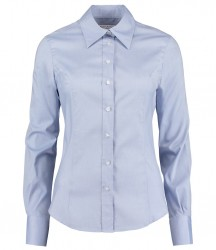 Image 5 of Kustom Kit Ladies Long Sleeve Corporate Oxford Shirt