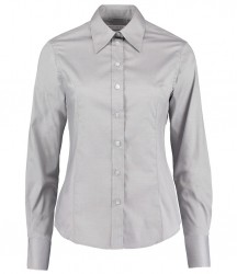 Image 10 of Kustom Kit Ladies Long Sleeve Corporate Oxford Shirt