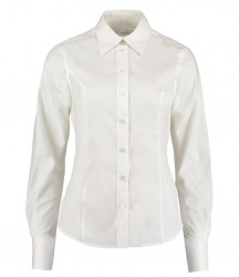 Image 6 of Kustom Kit Ladies Long Sleeve Corporate Oxford Shirt
