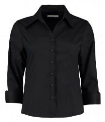 Kustom Kit Ladies 3/4 Sleeve Corporate Oxford Shirt image