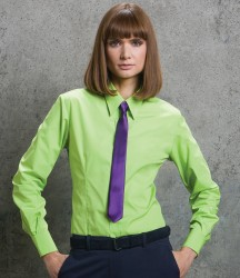 Kustom Kit Ladies Long Sleeve Classic Fit Workforce Shirt image