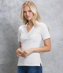 Kustom Kit Sophia Comfortec® V Neck Polo Shirt image