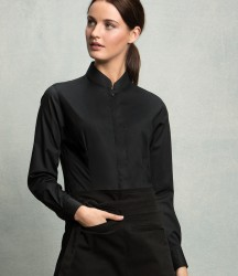 Bargear Ladies Long Sleeve Tailored Mandarin Collar Shirt image