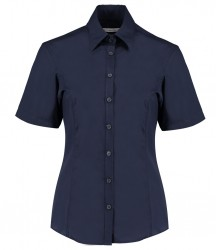 Image 3 of Kustom Kit Ladies Short Sleeve Tailored Business Shirt