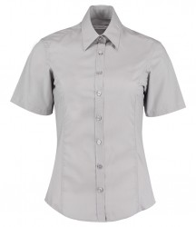 Image 5 of Kustom Kit Ladies Short Sleeve Tailored Business Shirt