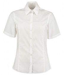 Image 6 of Kustom Kit Ladies Short Sleeve Tailored Business Shirt