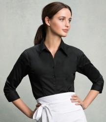 Bargear® Ladies 3/4 Sleeve Tailored Bar Shirt image